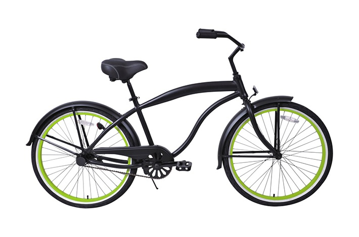 Lady Beach Cruiser Bike Manufacturer Introduces How To Repair Bicycles